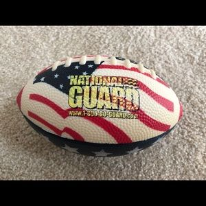 Army National Guard Rubber Miniature Football Toy